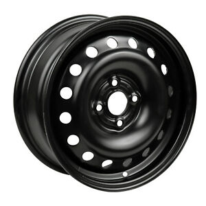 New 15x5 5 Black Steel Wheel For 1991 1997 Honda Accord Coupe 560 63733