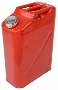 Jegs 80235 Jerry Can 5 Gallon Metal Red With Spout