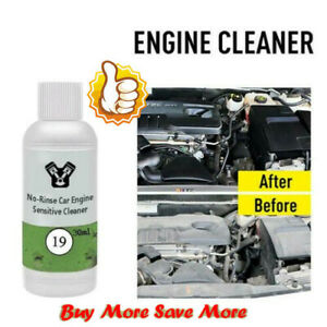 Car Engine Cleaner Removes Heavy Oil From Engine Compartment No Rinse 2021
