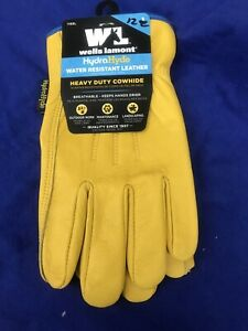Wells Lamont Hydrahyde Elasticized Wrist Work Glove