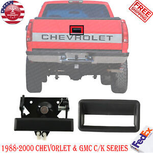 Rear Tail Gate Handle Bezel Textured For 1988 2000 Chevrolet Gmc C K Series
