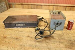 Magna lock Magnetic Chuck Electro matic Control For Surface Grinder Milling