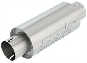 Borla 401343 Universal Resonator Muffler Center In Center Out Round 3 In In out