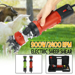 110v 900w Electric Shears Shearing Clipper Animal Sheep Goat Pet Farm Machine