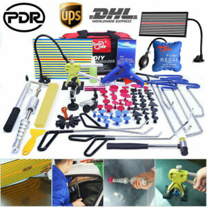 Pdr Tools Paintless Dent Repair Puller Rod Hail Car Body Damage Removal Fixer Us