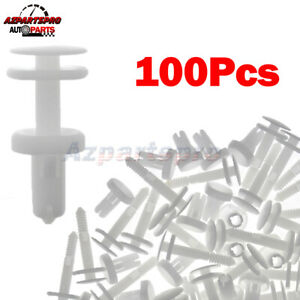 100pcs Push Type Retainer Clips Door Trim Panel For Chevrolet Tahoe Astro Blazer