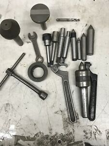 Mix Lot South Bend Lathe Tools M2 And Mt 3