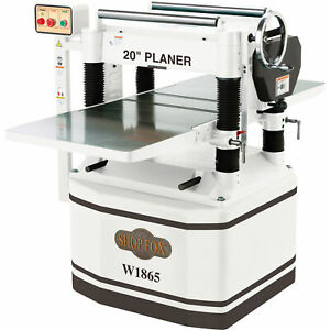 Shop Fox 20in Planer With Helical Cutterhead 5 Hp Model W1865