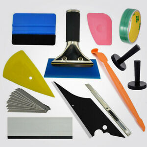 Car Window Tint Vinyl Wrap Tool Kit Film Install Squeegee Graphic Knifeless Tape