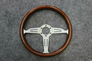 Momo Grand Prix Porsche ferrari alfa Wood Vintage Steering Wheel