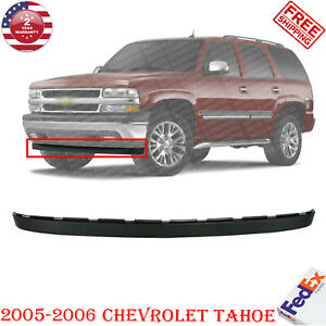 Front Lower Valance Extension Textured For 2005 2006 Chevrolet Tahoe Ls Lt Z71