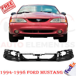 For 1994 1998 Ford Mustang Front Headlight Header Mounting Panel