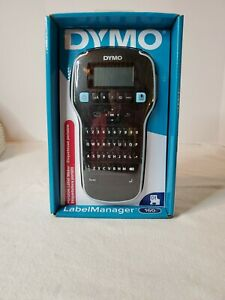 Dymo Labelmanager 160 Portable Label Maker Black silver 1790415