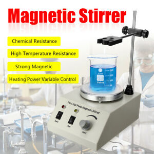 1000ml Electric Hot Plate Magnetic Stirrer Mixer Stirring Lab Speed