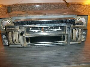 1968 1969 Mopar B body Am 8 track Radio 2884633 Superbee Charger Roadrunner Gtx