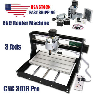 Cnc 3018 Pro Router Engraving Machine 3 Axis Milling Machine Drilling Wood Pcb