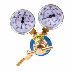 Oxygen Regulator Reducer Pressure Regulator Guages Hose 2 Cutting Welding Kit