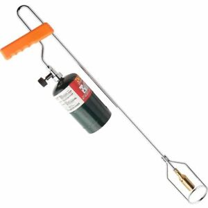 Lightweight Weed And Ice Burner Torch For Use With Propane Tank