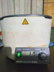 Buchi B 490 Heating Water And Oil Bath For Rotary Evaporator 0 To 180 Degrees C