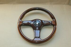 Nardi Torino 360mm 36cm Vintage Mahogany Wood Steering Wheel Amg bmw alfa