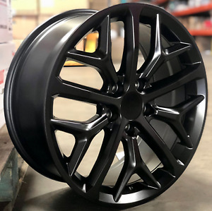 18 Wheels Satin Black Fit Honda Accord Civic Prelude Crv 5x114 3 Si Style Rims