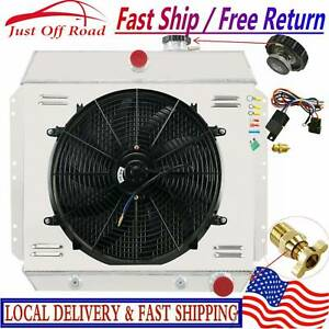3 Row Radiator Shroud Fan Relay For Chevy Bel Fleetline Styleline Deluxe 1949 54