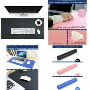 Desk Blotter Pad Table Protector Mat On Top Of Work Writing Office Laptop Desk U