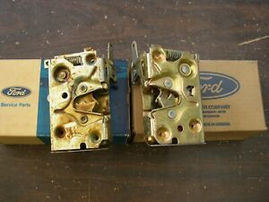 Nos Oem Ford 1981 1993 Mustang Door Latches 1992 1991 1990 1989 1988 1987 1986
