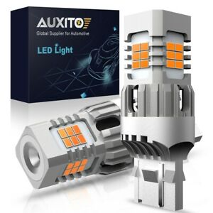 Auxito Amber Yellow Canbus 7440 Led Front Turn Signal Light Bulbs No Hyper Flash