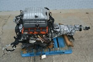 Dodge 6 2 Hellcat Supercharged Engine W 6sp Manual Liftout Charger Challenger