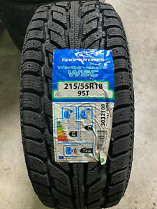 4 New 215 55 18 Cooper Weather Master Wsc Snow Tires