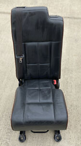 2007 2017 Lincoln Navigator Ford Expedition 2nd Row Middle Jump Seat Black Oem