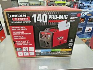 Lincoln Electric 140 Pro mig Welder K2480 1 New Sealed