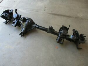 Dana Spicer 30 Front Axle Assembly 3 07 Ratio Lhd 1997 2006 Jeep Wrangler Tj