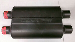 Sale Flowmaster Super 40 Series Exhaust Muffler 2 5 Dual Inlet 2 5 Dual Outlet