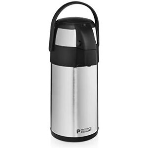 Airpot Coffee Dispenser With Pump stainless Steel Thermal Carafe Three Liter