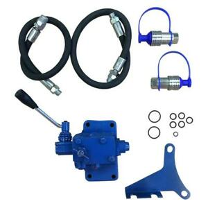 Fds3364 Single Spool Double Acting Hydraulic Remote Valve Kit Fits Ford