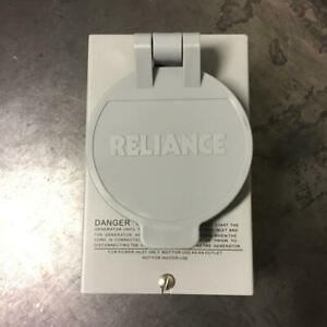 Reliance Controls 30 Amps 125 250 Volts Surface Power Inlet Box Pb30 L14 30