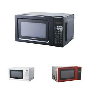 Small Mini Microwave Oven Office Apartment Travel Digital Compact Counter Cooker