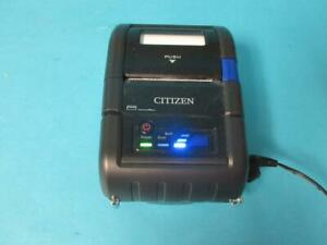 Citizen Portable Pos Thermal Bluetooth Mobile Printer Model Cmp 20bt W charger