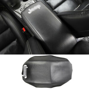 For Jeep Grand Cherokee 11 2021 Carbon Fiber Central Console Armrest Box Holster