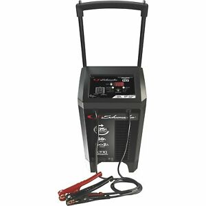 Schumacher Fully Automatic Wheeled Battery Charger W Engine Starter