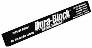 Dura Block Af4420 Hook Loop Black Standard Sanding Block