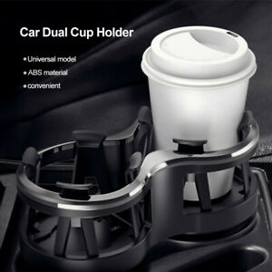 Universal Car Seat Console Accessories Drinks Cup Holder Storage Organiser Black