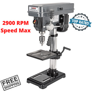 12 Speed Table Bench Top Drill Press 10 In All Purpose Portable For Home Shop
