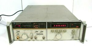 Hp Hewlett Packard 8672a Synthesized Signal Generator 2 0 18 0 Ghz Free Ship