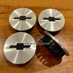 4 Pcs Wheel Center Hub Caps Fits Chevy Blazer Camaro Traverse Colorado Equinox