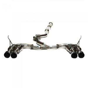 Invidia R400 Stainless Tip Cat Back Exhaust For 2011 14 Subaru Wrx Sti Sedan