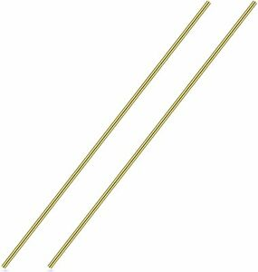 3 16 Inch Brass Round Rod Favordrory 2pcs Brass Round Rods Lathe Bar Stock 3