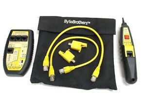 Triplett Bytebrothers Tvr 10 100 1000 Lan Tester With Remote Probe